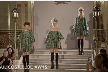 London Fashion Week Paul Costelloe