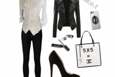 Outfit dark in stile vittoriano