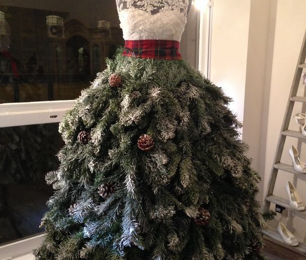 albero di natale abito