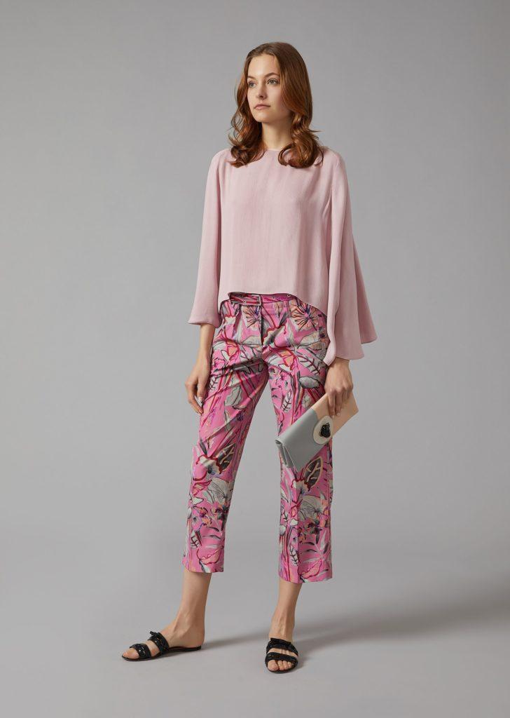 Armani primavera estate 2018 tendenze moda donna