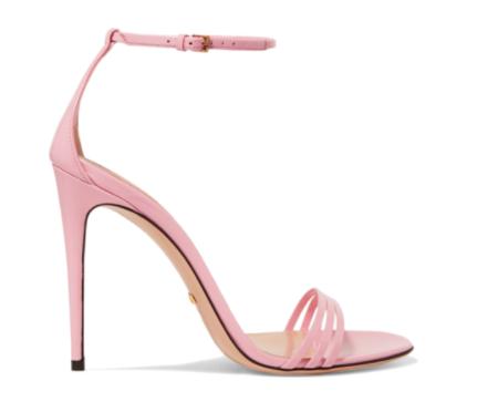 scarpe gucci rosa