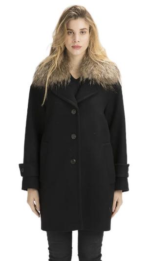 Outfit con cappotto in panno Twin Set Simona Barbieri - Il Blog di Alice 155e4890d86c