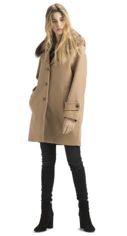 f0e9684685 Outfit con cappotto in panno Twin Set Simona Barbieri - Il Blog di Alice